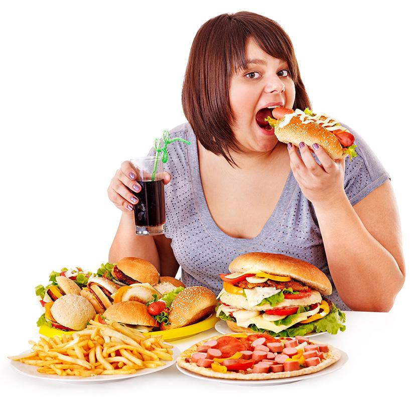 Здоровье подрывает неправильное питание