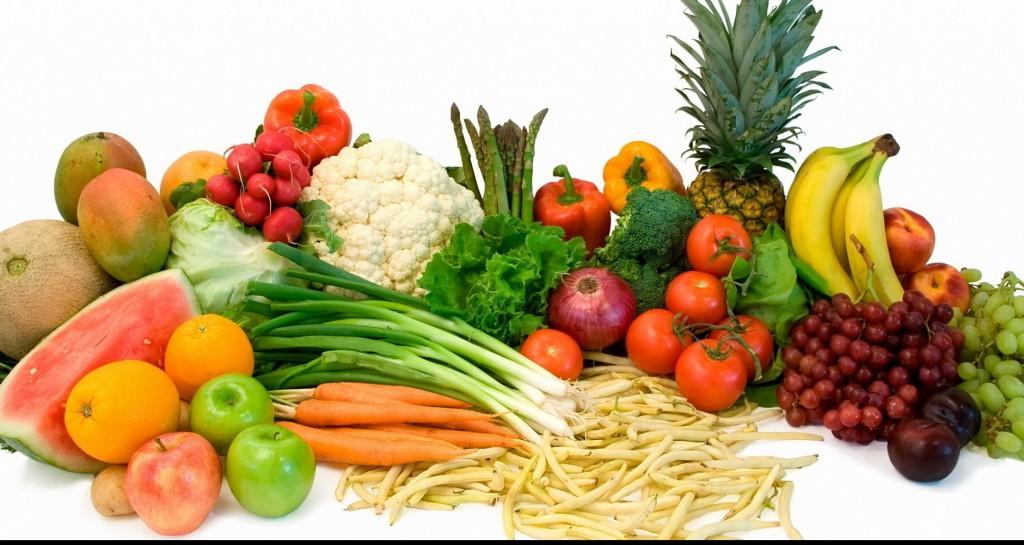 Нужно кушать полезные овощи и фрукты