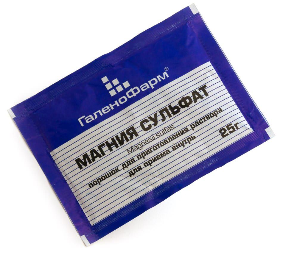 Магнезия активно используется для кишечной чистки