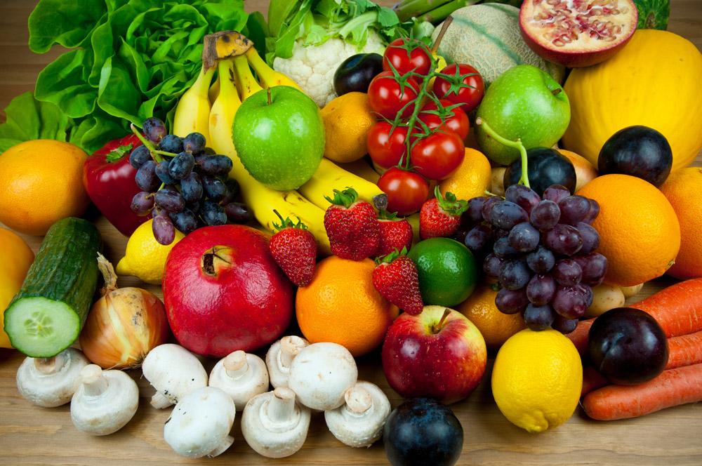 Фрукты и овощи должны быть в рационе больного гастритом
