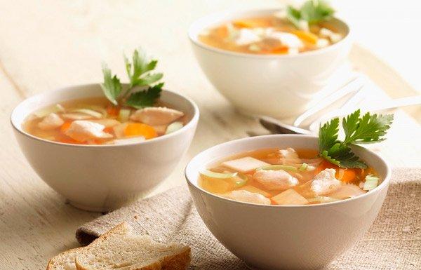 Больной обязательно должен есть суп в обед