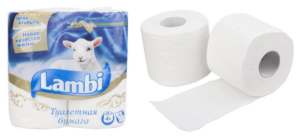 Следует использовать мягкую туалетную бумагу