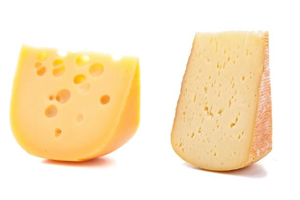 Отличия сыров